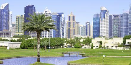 Golfbane i Dubai, De Forenede Arabiske Emirater.