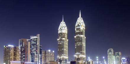 Skyline i Internet City, som er et område med mange IT-firmaer nær Al Barsha.