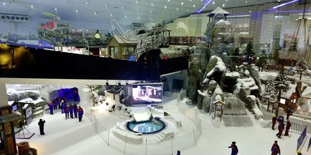 Ski Dubai i Mall of the Emirates i Dubai Al Barsha, De Forenede Arabiske Emirater.