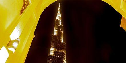 Burj Khalifa i Dubai, De Forenede Arabiske Emirater.