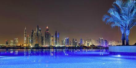 Pool på Hotel Dukes The Palm på Dubai Palm Jumeirah