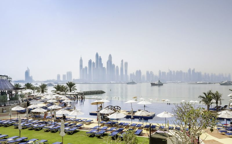 Hotel Dukes The Palm på Dubai Palm Jumeirah
