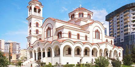 Katedralen Saint Paul og Saint Astius i Durres Riviera, Albanien.