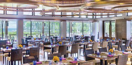 Restaurant Mangosteen på Hotel Dusit Thani Beach Resort i Klong Muang på Krabi, Thailand.
