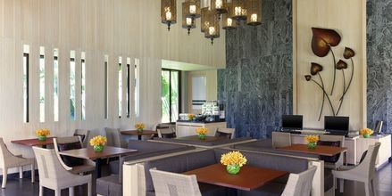 Club Lounge på Hotel Dusit Thani Beach Resort i Klong Muang på Krabi, Thailand.