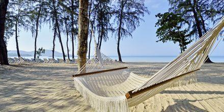 Stranden ved Hotel Dusit Thani Beach Resort i Klong Muang på Krabi, Thailand.