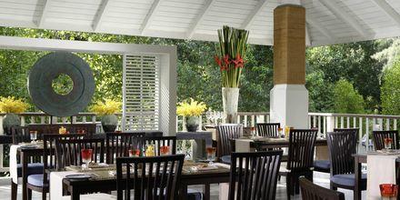 Restaurant Geckos på Hotel Dusit Thani Krabi Beach Resort  i Klong Muang på Krabi, Thailand.