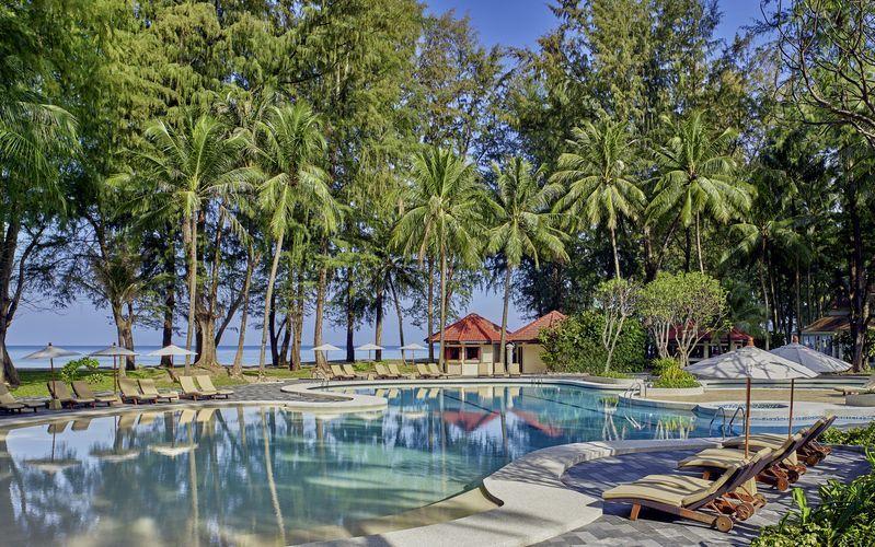 Poolområdet på hotel Dusit Thani Laguna Phuket i Bangtao Beach