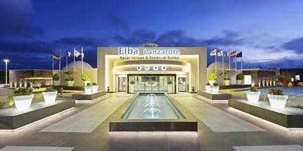 Indgang ved Elba Lanzarote Royal Village Resort, Lanzarote.