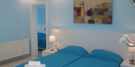 2-værelses lejlighed på hotel Elias i Megali Ammos på Skiathos, Grækenland.