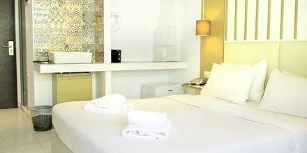 Værelse på Hotel Elite på Rhodos i Grækenland.