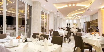 Restaurant på Hotel Elysium i Dhermi, Albanien.