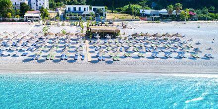 Stranden, ca. 500 meter fra Hotel Elysium i Dhermi, Albanien.