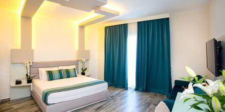 Deluxe-værelse på Hotel Elysium i Dhermi, Albanien.