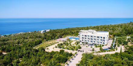 Hotel Elysium i Dhermi, Albanien.