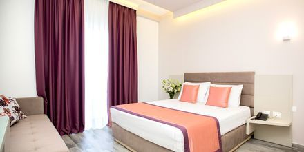 Dobbeltværelse på Hotel Elysium i Dhermi, Albanien.