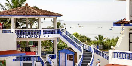 Hotel Empire Beach Resort i Det Nordlige Goa, Indien.