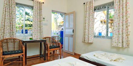 Familie-værelse på Hotel Empire Beach Resort i Det Nordlige Goa, Indien.