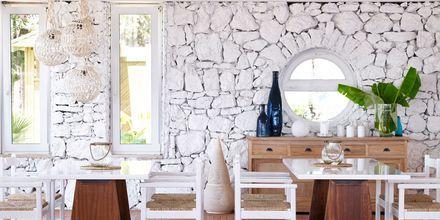 Restaurant på hotel Epsilon på Rhodos, Grækenland.