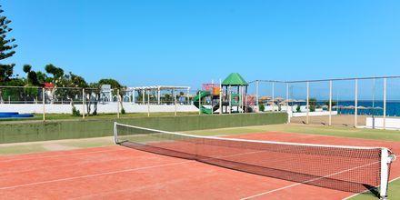 Tennis på hotel Epsilon på Rhodos, Grækenland.