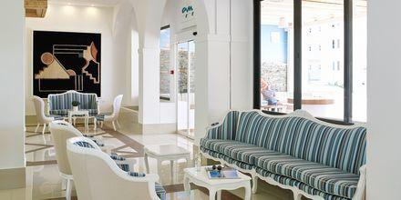 Lobby på hotel Epsilon på Rhodos, Grækenland.