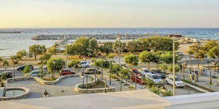 Udsigt fra Hotel Erato i Karlovassi på Samos, Grækenland.
