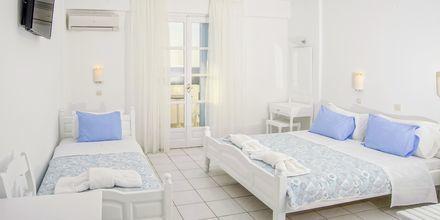 Dobbeltværelse på Hotel Erato i Karlovassi på Samos, Grækenland.