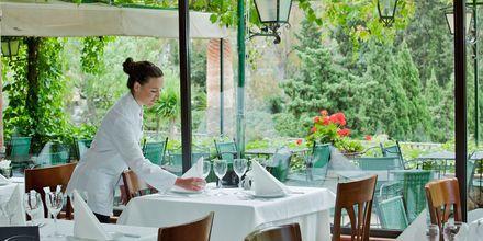 Restauranten på Hotel Es Port i Puerto Soller på Mallorca, Spanien