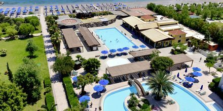 Esperides Beach Family Hotel på Rhodos, Grækenland.