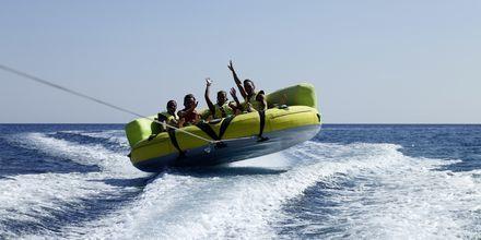 Vandsport ved Hotel Esperos Mare på Rhodos, Grækenland