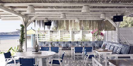 Strandtaverne på Hotel Esperos Village Blue & Spa på Rhodos, Grækenland