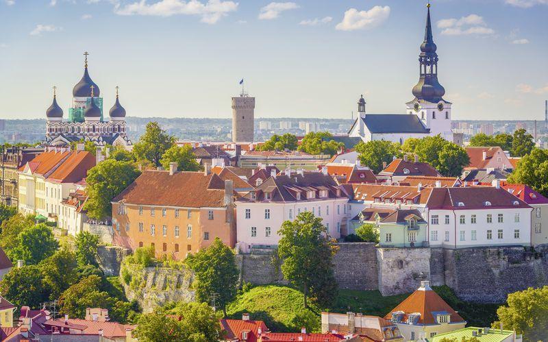 Estland, et perfekt weekendrejsemål. Her er Tallinn.