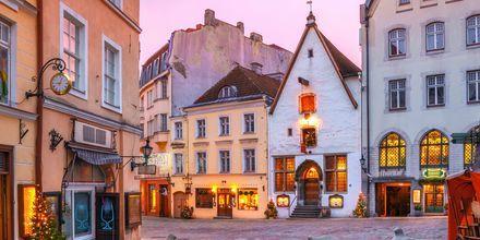 Tidlig morgen i Tallinn.
