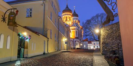 Den gamle by i Tallinn.