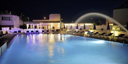 Poolområdet på Hotel EuroNapa i Ayia Napa, Cypern.