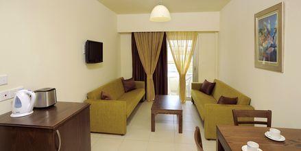 2-værelses lejlighed på Hotel EuroNapa i Ayia Napa, Cypern.