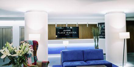 Reception på Hotel Europe Playa Marina på Mallorca, Spanien.