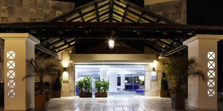 Indgang til Hotel Europe Playa Marina på Mallorca, Spanien.