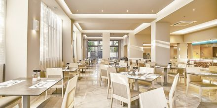 Restaurant på Eva Bay på Kreta