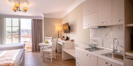 1-værelses lejlighed på Hotel Fafa Grand Blue i Durres Riviera i Albanien.