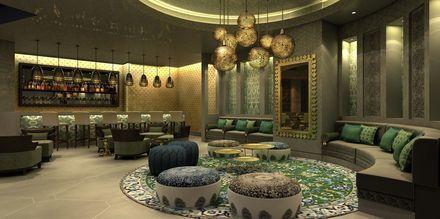 Bar på Hotel Fairmont Ajman, De Forenede Arabiske Emirater.