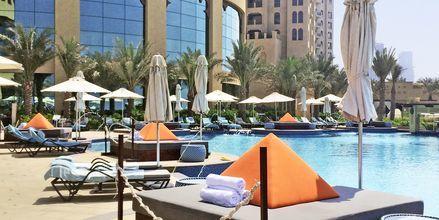 Poolområde på Hotel Fairmont Ajman, De Forenede Arabiske Emirater.