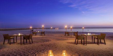 Strandbar på Fanar Hotel & Residences i Salalah, Oman.