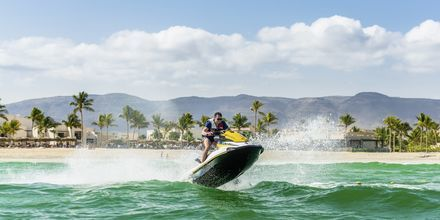 Vandsport på Fanar Hotel & Residences i Salalah, Oman.