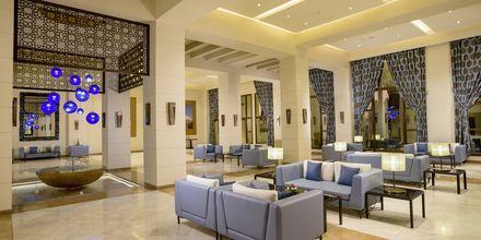 Lobby på Fanar Hotel & Residences i Salalah, Oman.