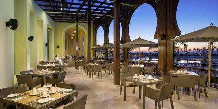 Restaurant på Fanar Hotel & Residences i Salalah, Oman.