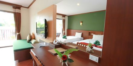 Dobbeltværelse på Hotel Fanari Khaolak Resort - Courtyard i Khao Lak, Thailand.