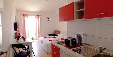1-værelses lejlighed på Hotel Fani i Makarska, Kroatien.