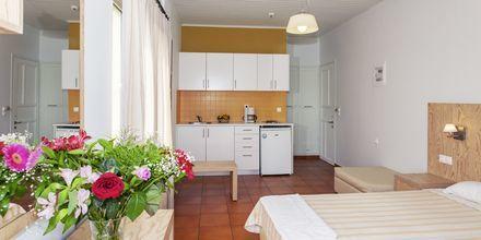 1-værelses lejligheder på hotel Faros i Kato Stalos, Kreta.