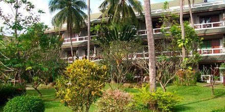 Hotel First Bungalow Beach Resort på Koh Samui, Thailand.